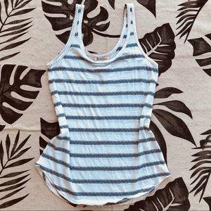 Lucky brand striped tank top